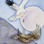 Hen Harrier, Watercolour on paper, 20x14cm, 2010